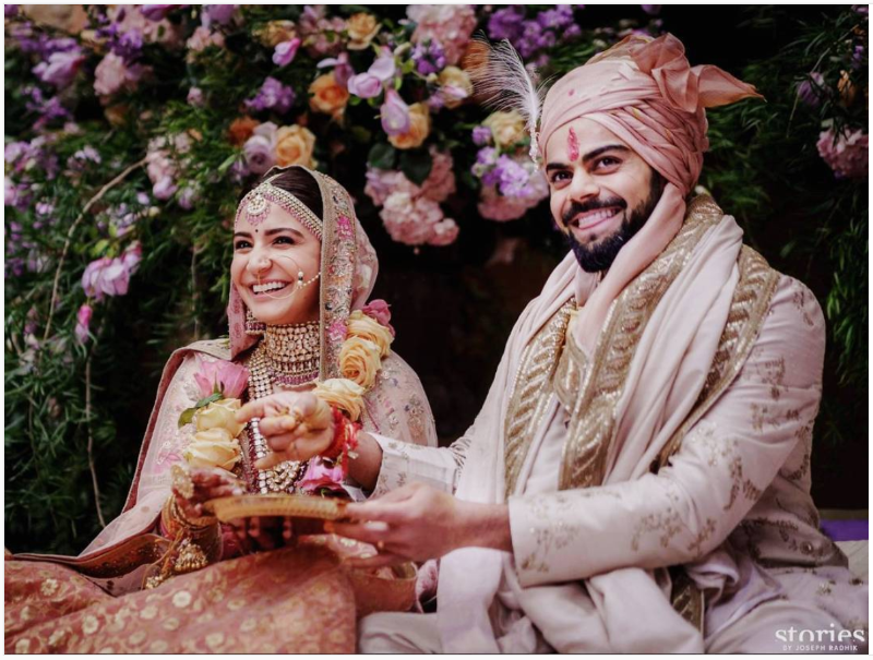 Virushka wedding which is all that the internet can talk about: