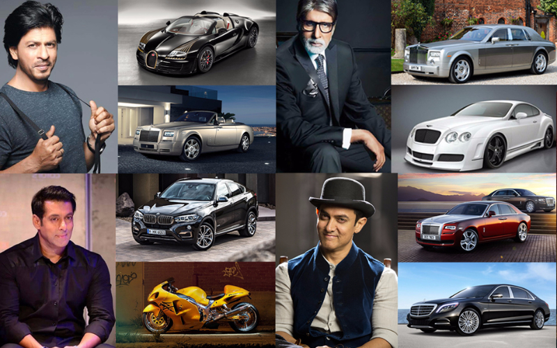 10 Most Expensive Cars Owned By Bollywood Celebrities