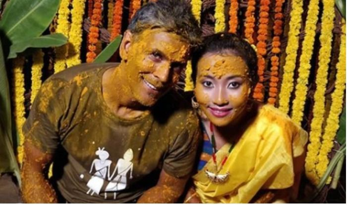 Milind soman and Ankita konwars happily ever after