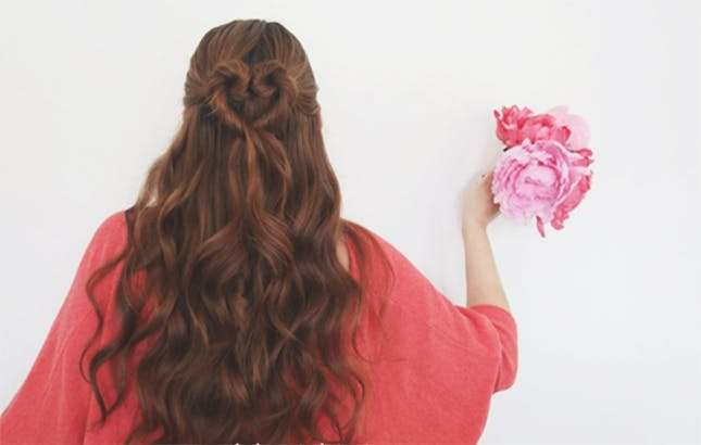 Get a new, ultra feminine hair-do