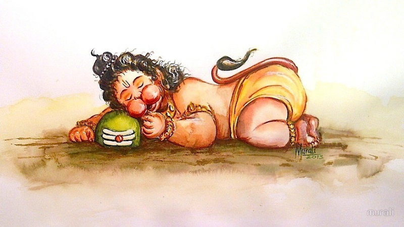 Pawanputra Hanuman was an incarnation of Lord Shiva and is considered to be an exemplification of st