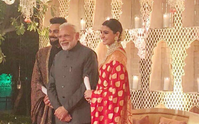 Primister attends Virushka's Reception