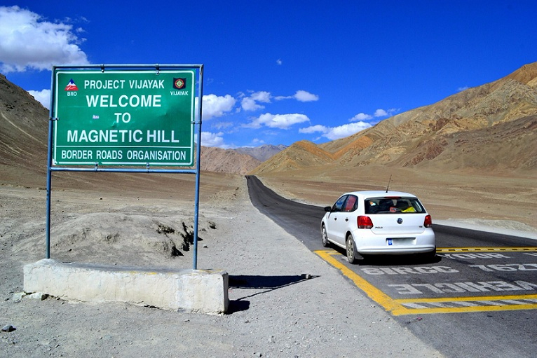 The Magnetic Hill Of Ladakh