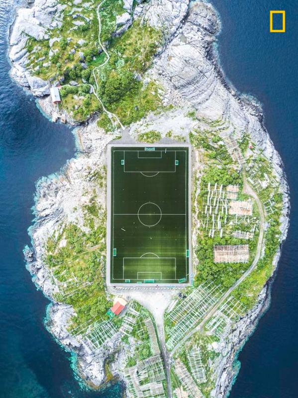 3rd: Henningsvær Football Field by Misha De-Stroyev