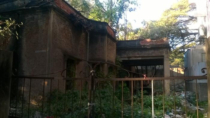 Vas Villa on St Mark's Road in Bangalore